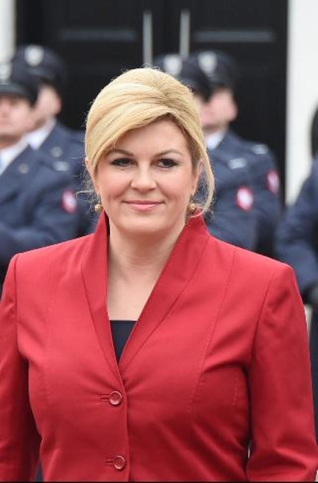 1. купальник, президент, хорватия