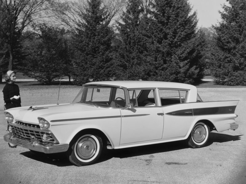 Rambler Six Super Sedan (1959) классика, олдтаймер, ретро авто