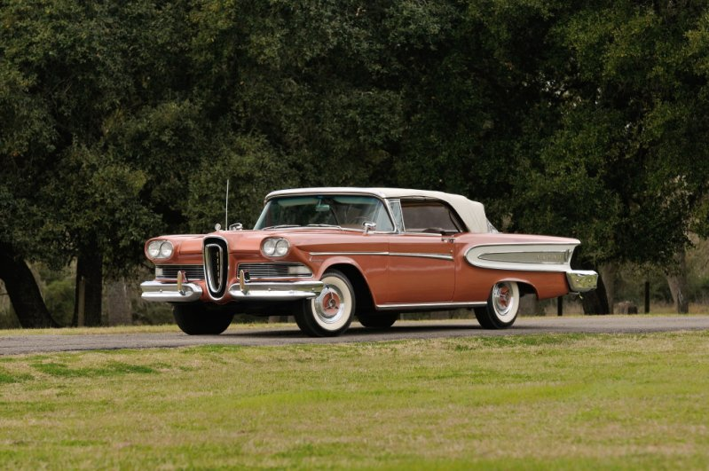Edsel Citation 2-door Convertible (1958) классика, олдтаймер, ретро авто