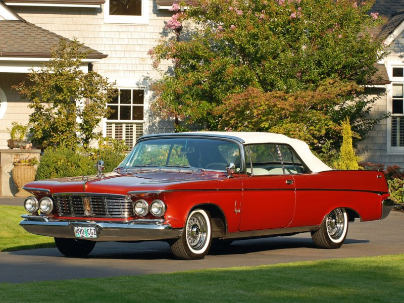 Imperial Crown Convertible (1963) классика, олдтаймер, ретро авто