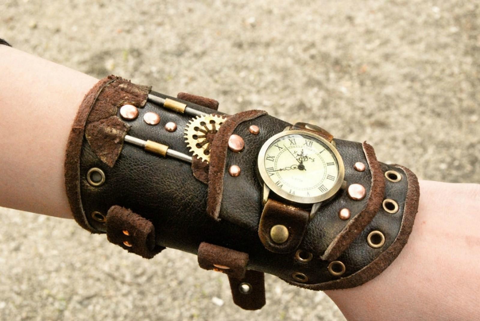 Часы в стиле стимпанк купить