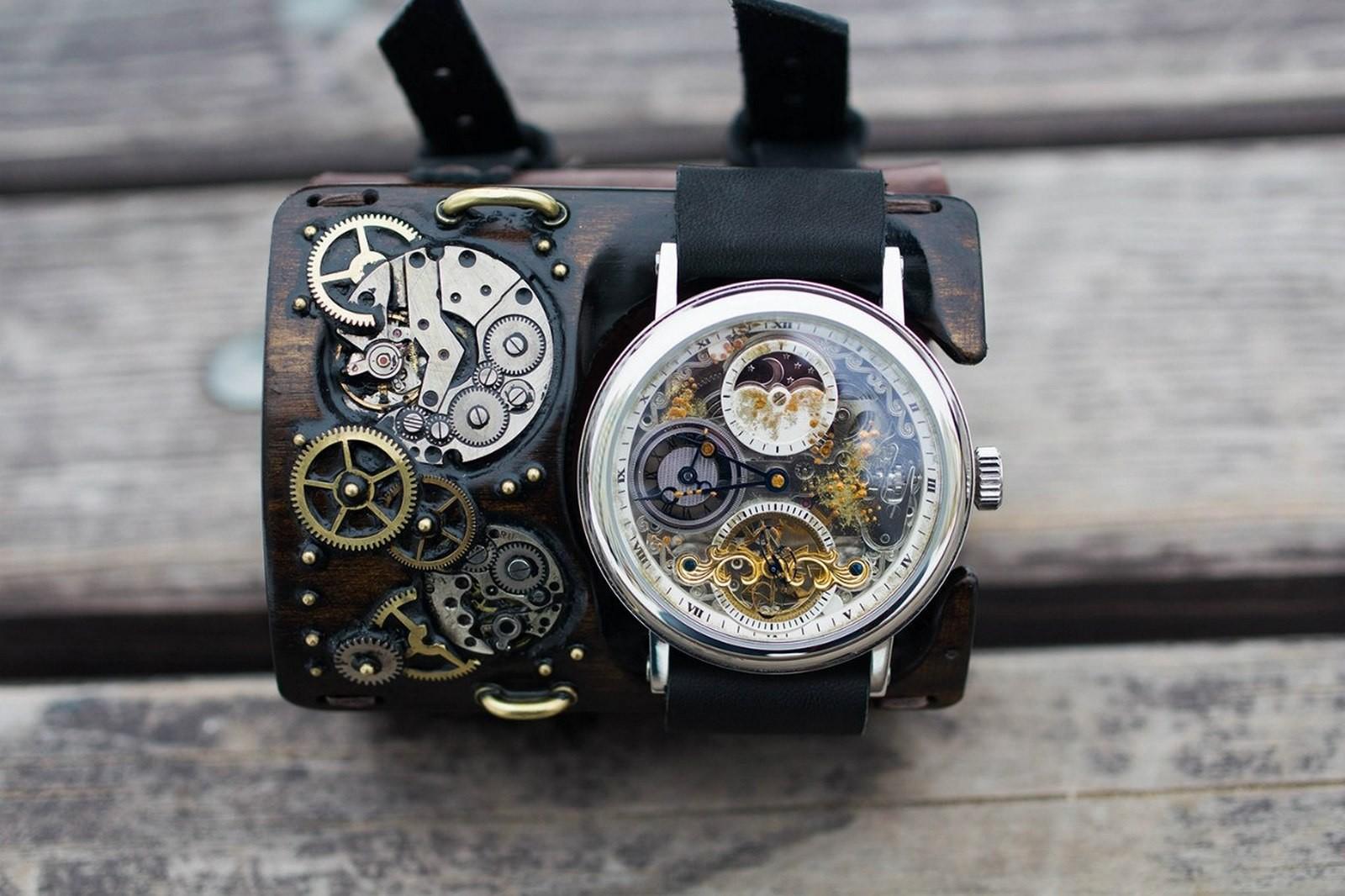 Как сделать наручные часы стимпанк часы seiko bullhead купить