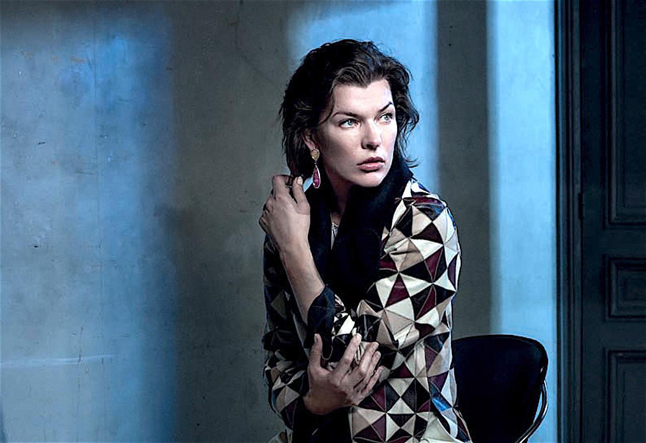 Milla Jovovich, декабрь 2016 милла йовович шок и трепет смотреть