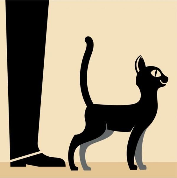Кот насрал кроту в нору видео
