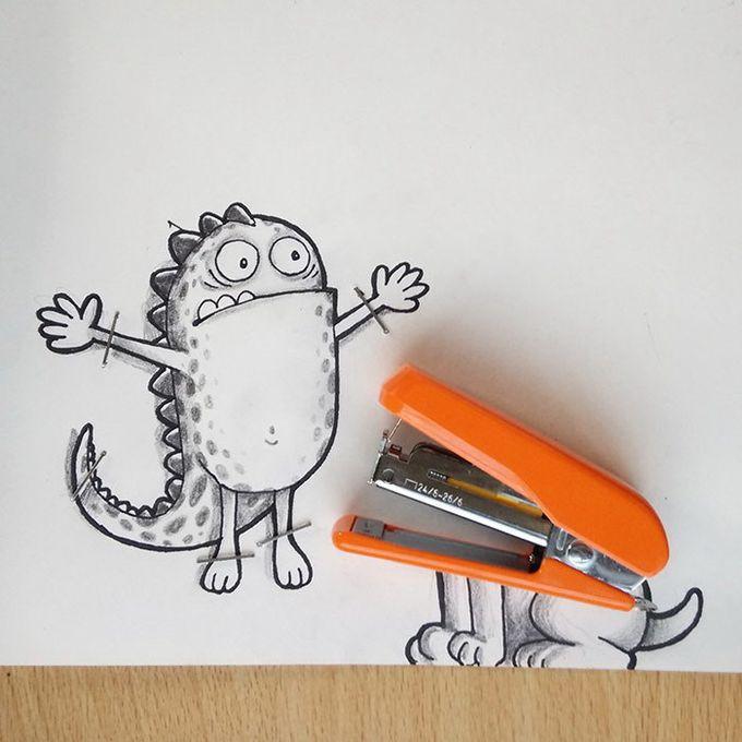 Флэш, картинки прикольные смешные для рисования