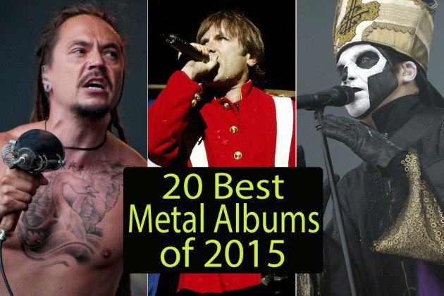 TOP 10 Metal Album Awards 2015