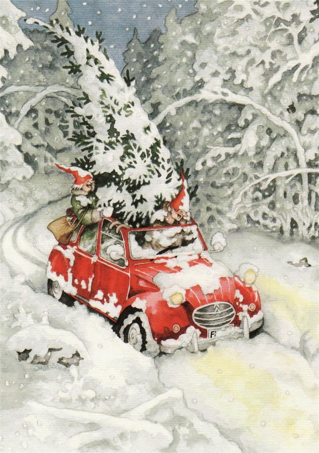 Финская художница открытки