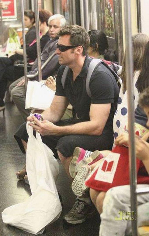 Хью Джекман знаменитости, метро