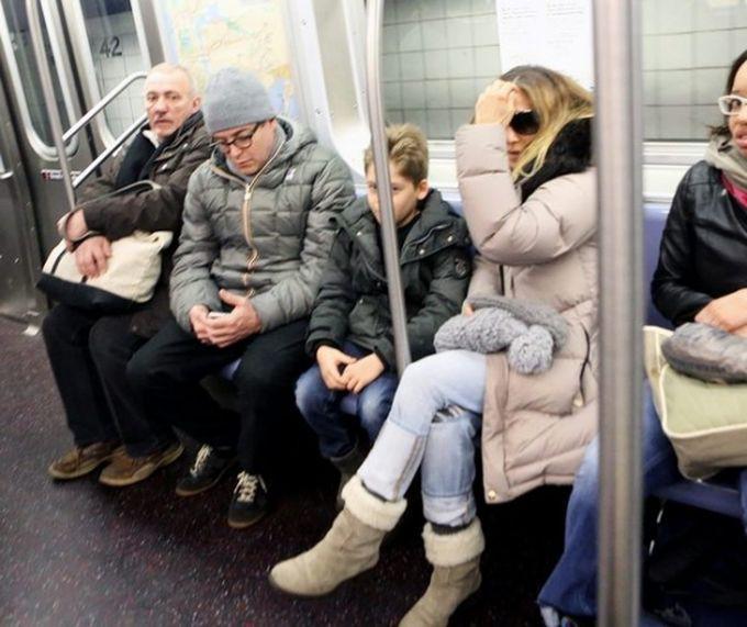 Сара Джессика Паркер знаменитости, метро
