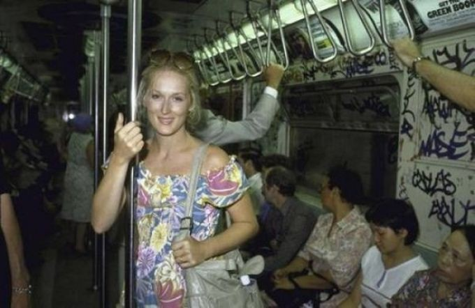 Мэрил Стрип знаменитости, метро