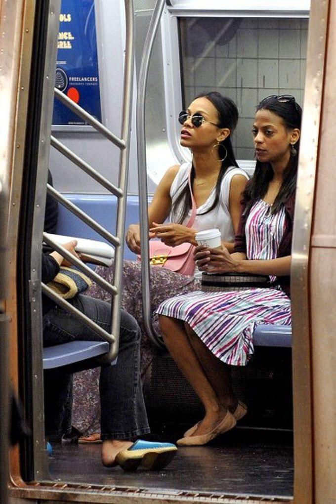 Зои Саланда знаменитости, метро