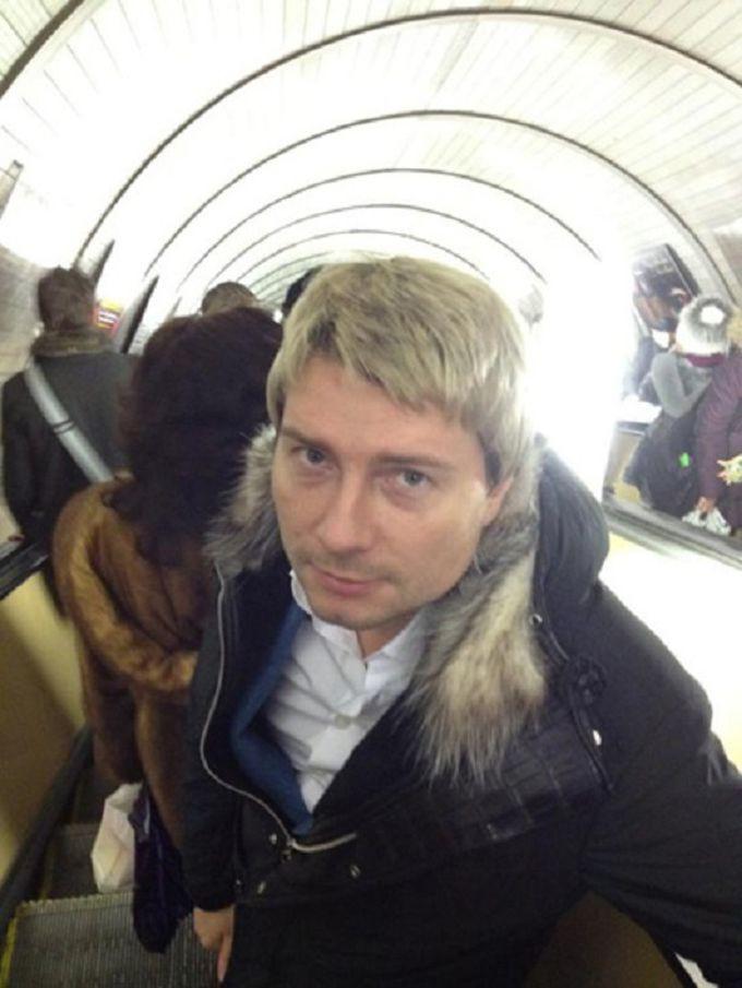 Николай Басков знаменитости, метро