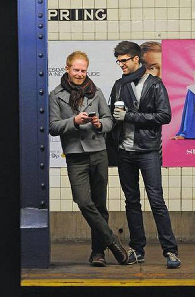 Джесси Тайлер Фергюсон знаменитости, метро