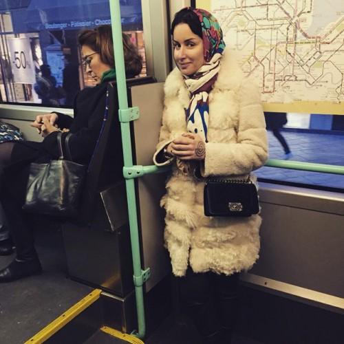 Тина Канделаки знаменитости, метро