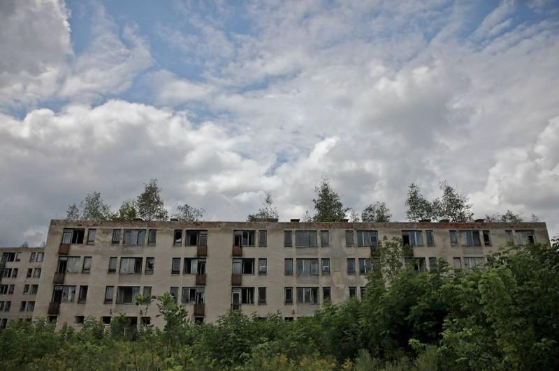 Шармеллек: Заброшенная советская военная база в Венгрии венгрия, военная база, ссср, шармеллек