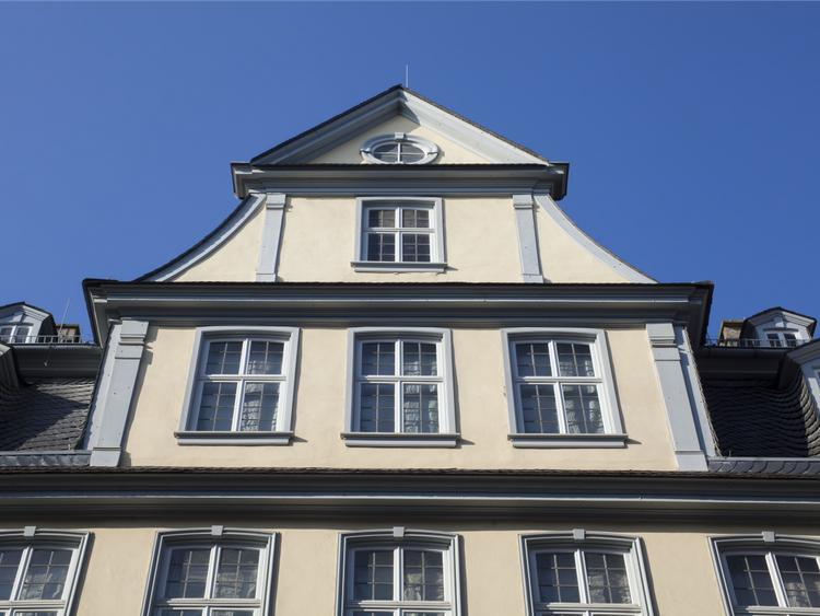 Посетите Дом Гёте во Франкфурте — подлинное жилище Иоганна Вольфганга фон Гёте, одного из самых известных писателей Германии германия, путешествие