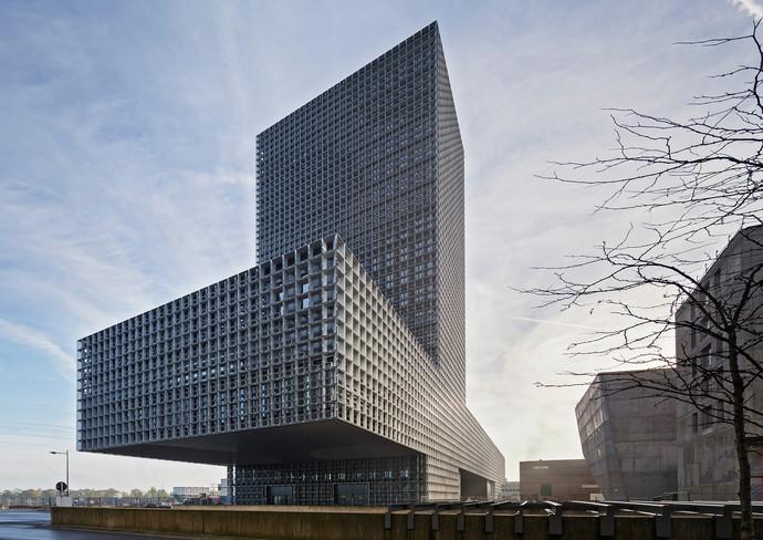 «Дом знаний», Эш-сюр-Альзетт, Люксембург архитектура, здание, интересное, мир
