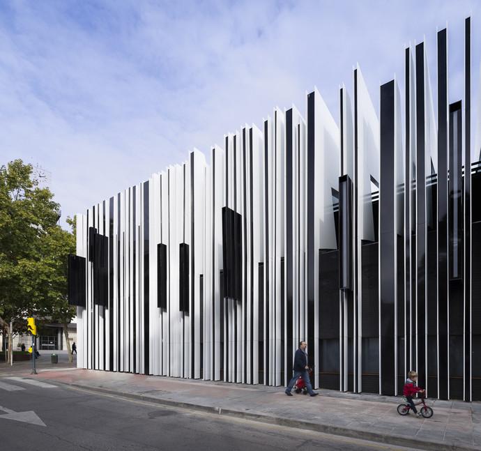 Культурный центр, Хетафе, Испания архитектура, здание, интересное, мир