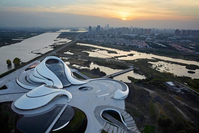Оперный театр, Харбин, Китай архитектура, здание, интересное, мир