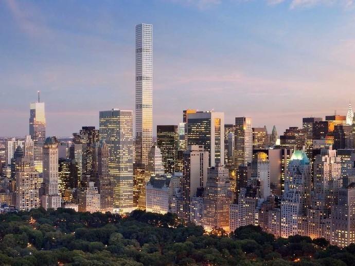 432 Park Avenue, Нью-Йорк, США архитектура, здание, интересное, мир