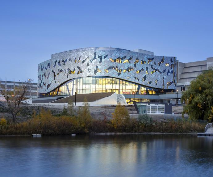 Центр инженерных исследований, Норт-Йорк, Канада архитектура, здание, интересное, мир