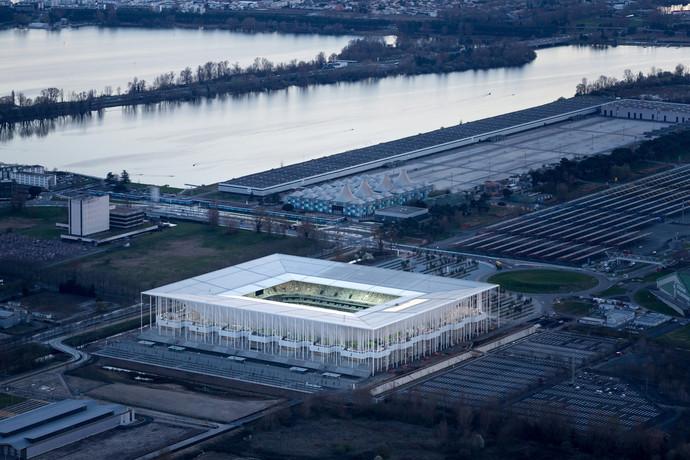 Новый стадион футбольного клуба «Бордо», Бордо, Франция архитектура, здание, интересное, мир