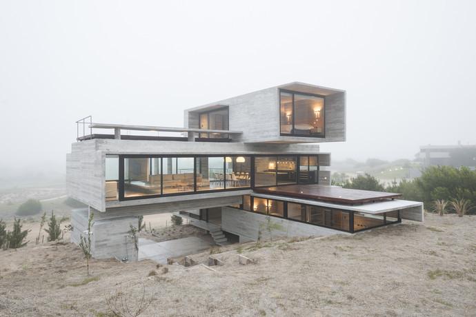 Golf House, Коста-Эсмеральда, Аргентина архитектура, здание, интересное, мир