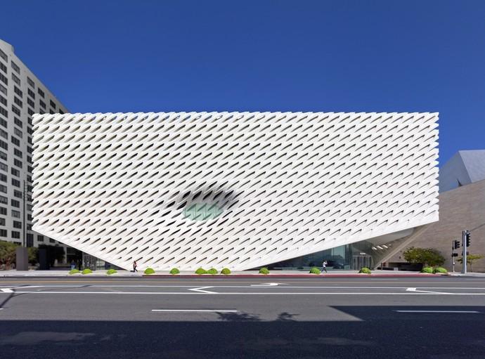 Музей The Broad, Лос-Анджелес, США архитектура, здание, интересное, мир