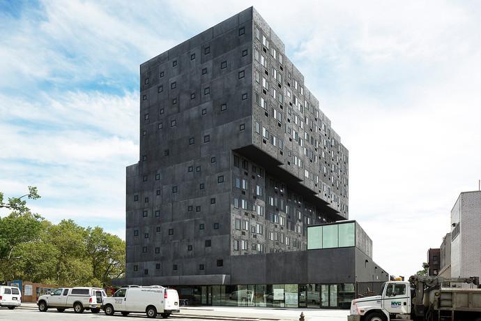 Жилой комплекс Sugar Hill, Нью-Йорк, США архитектура, здание, интересное, мир