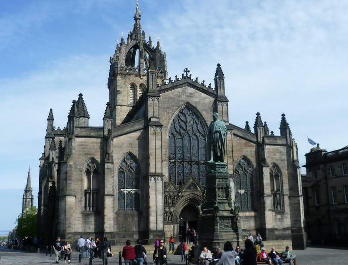 Эдинбург путешествие, туризм