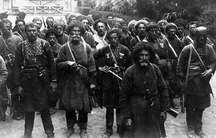 1921. Грузинские анархисты выступают против Красной армии. интересно, история, фото