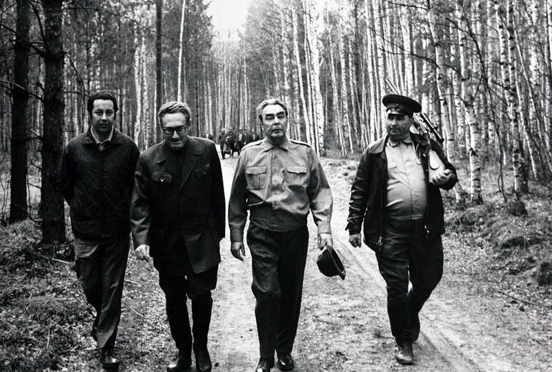 1974. Брежнев и Киссенджер на охоте интересно, история, фото