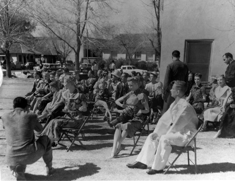 1953. Манекены для испытания ядерной бомбы. Лас-Вегас. интересно, история, фото