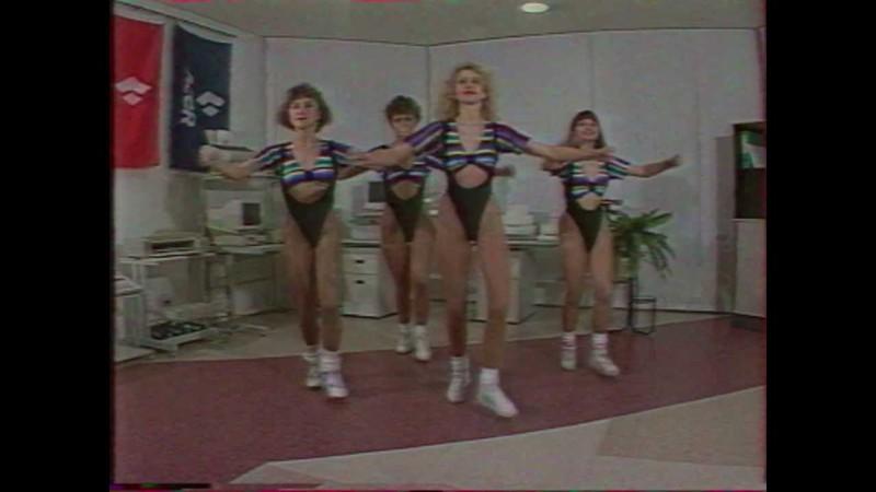 Ритмическая гимнастика девушек в нижнем белье видео фото