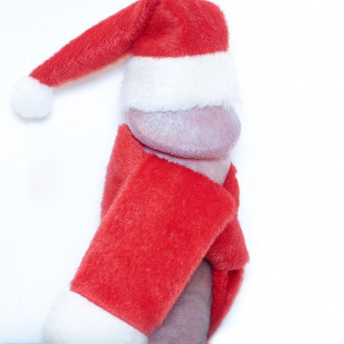 Вот, к примеру, праздничный, рождественский пенис люди, маразм, пенис, теперь я видел всё