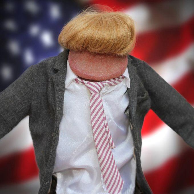 Дональд Трамп люди, маразм, пенис, теперь я видел всё