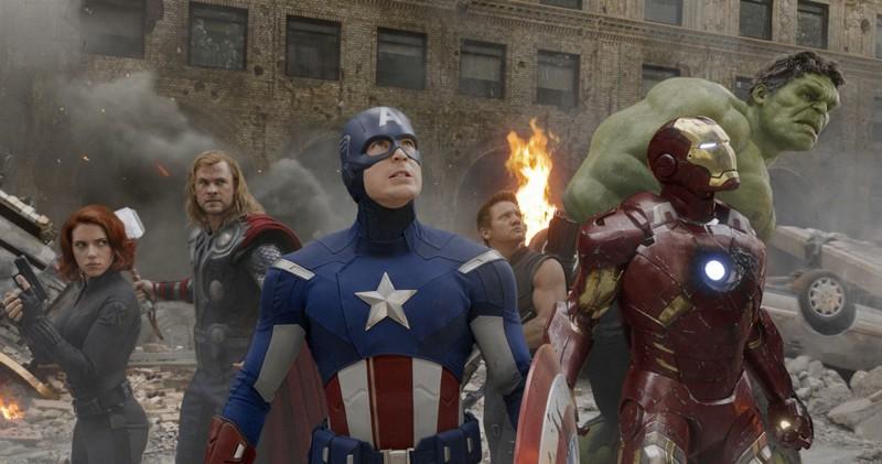 5. Мстители (2012) - $1 519 557 910. кино, самые кассовые фильмы, сборы, фильмы