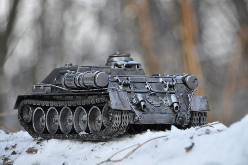 фото танка печь большой минус