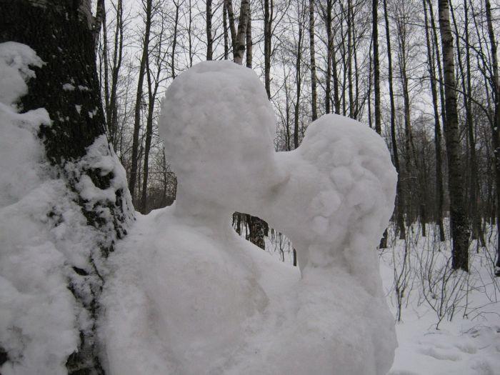 Снеговик в сексе