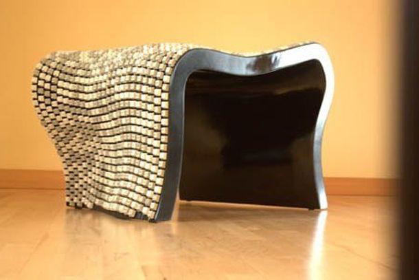 Красивый стул, правда не самый удобный клавиатура, своими руками