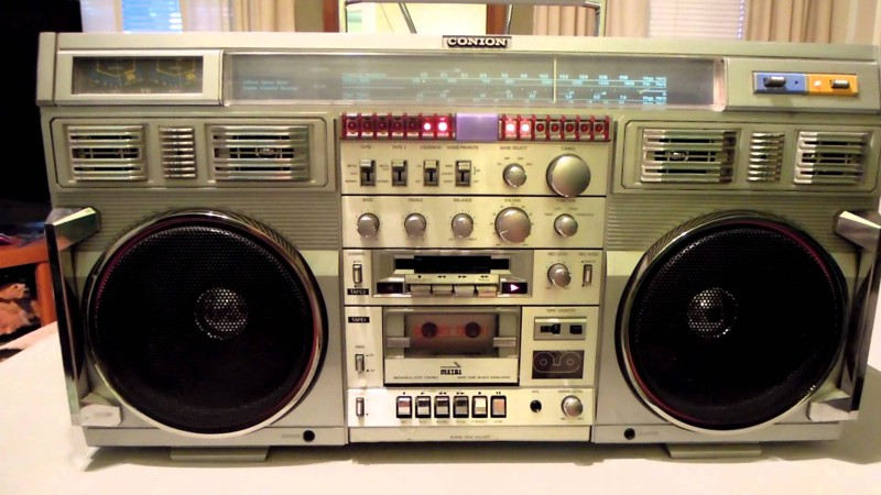 Авторитет среди авторитетов — Conion C-100F Ghettoblaster, история