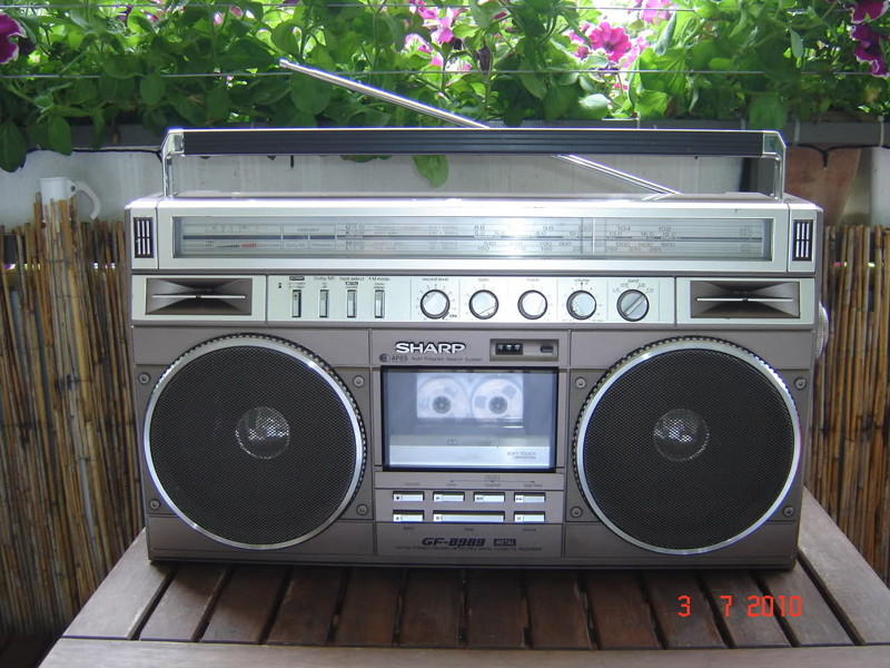 Sharp GF-8989  Ghettoblaster, история