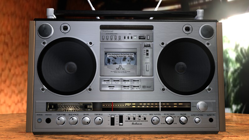 National RX-7000  Ghettoblaster, история