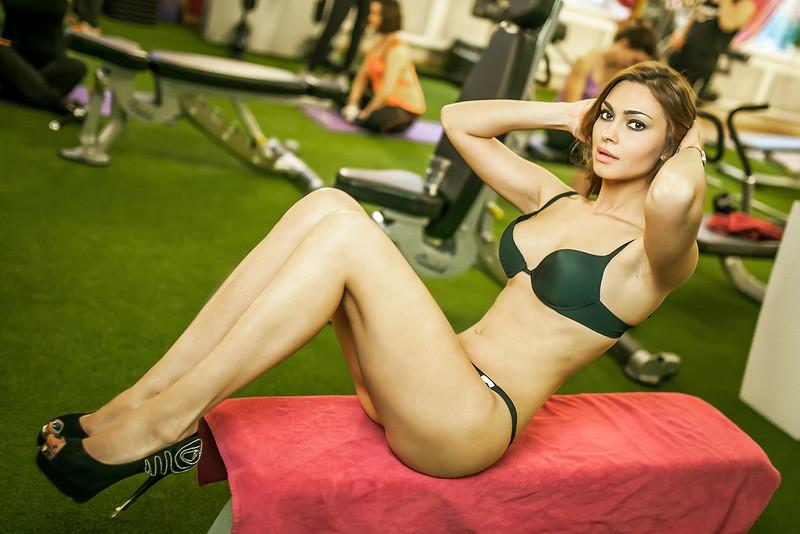 Телки с фитнес зала
