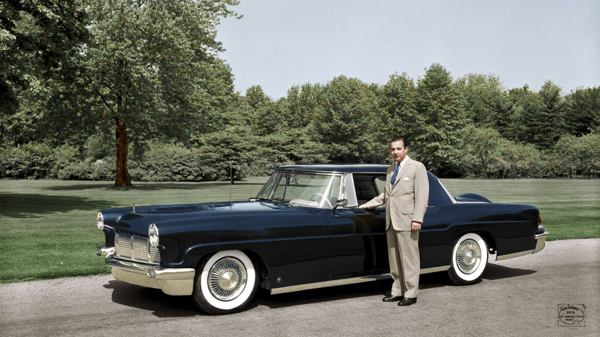 1956 Continental Mark II ретро автомобили, ретро фото, фотографии