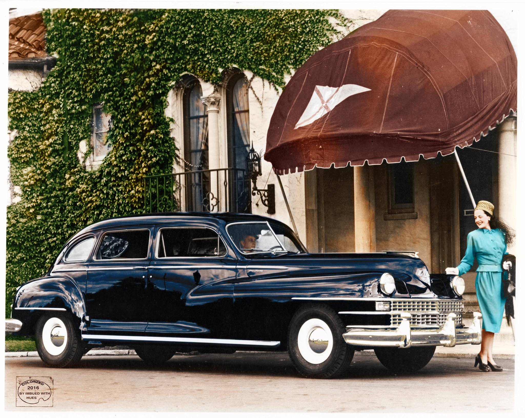 1948 Chrysler Crown Imperial Limousine ретро автомобили, ретро фото, фотографии