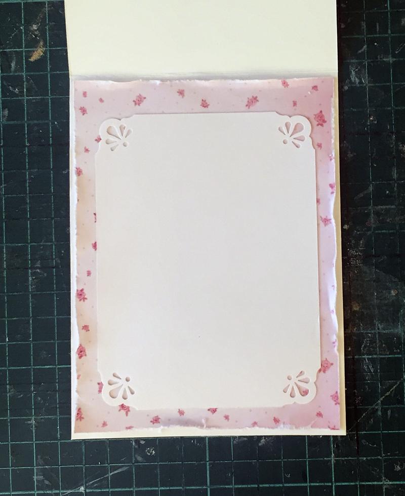 Для фотошопа, заготовка для открытки внутренняя часть