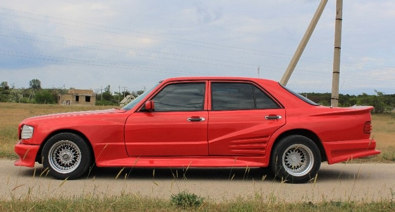 Mercedes-Benz W126 Koenig Specials - безумный тюнинг 80-х  W126, koenig specials, mercedes-benz, тюнинг