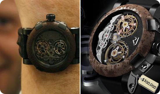 Необычные часы наручные