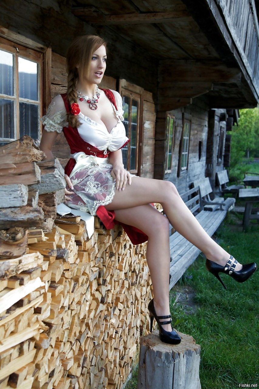 Ноги деревенской женщины — pic 8